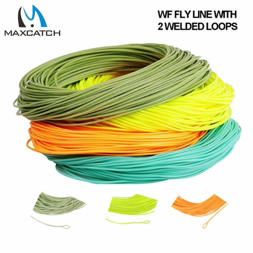 Weight forward floating fly line fly fishing line welded for Fly fishing line