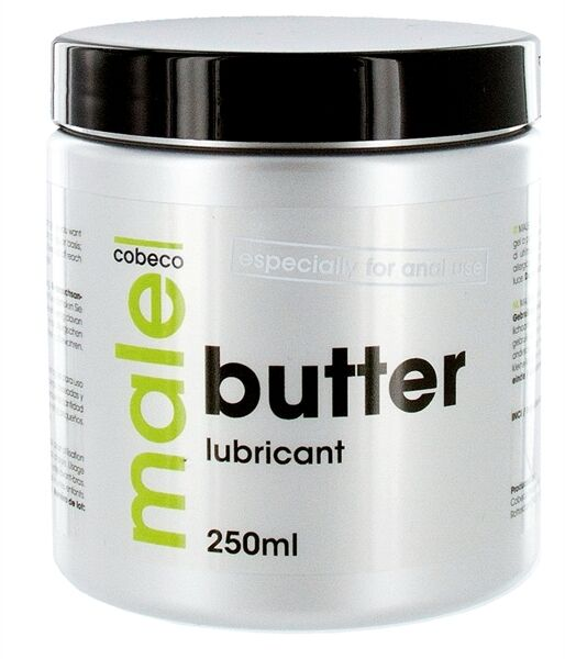 Details about NEW Cobeco MALE Thick Butter Lubricant Mens Heavy Duty Anal  Sex Lube 250ml Tub