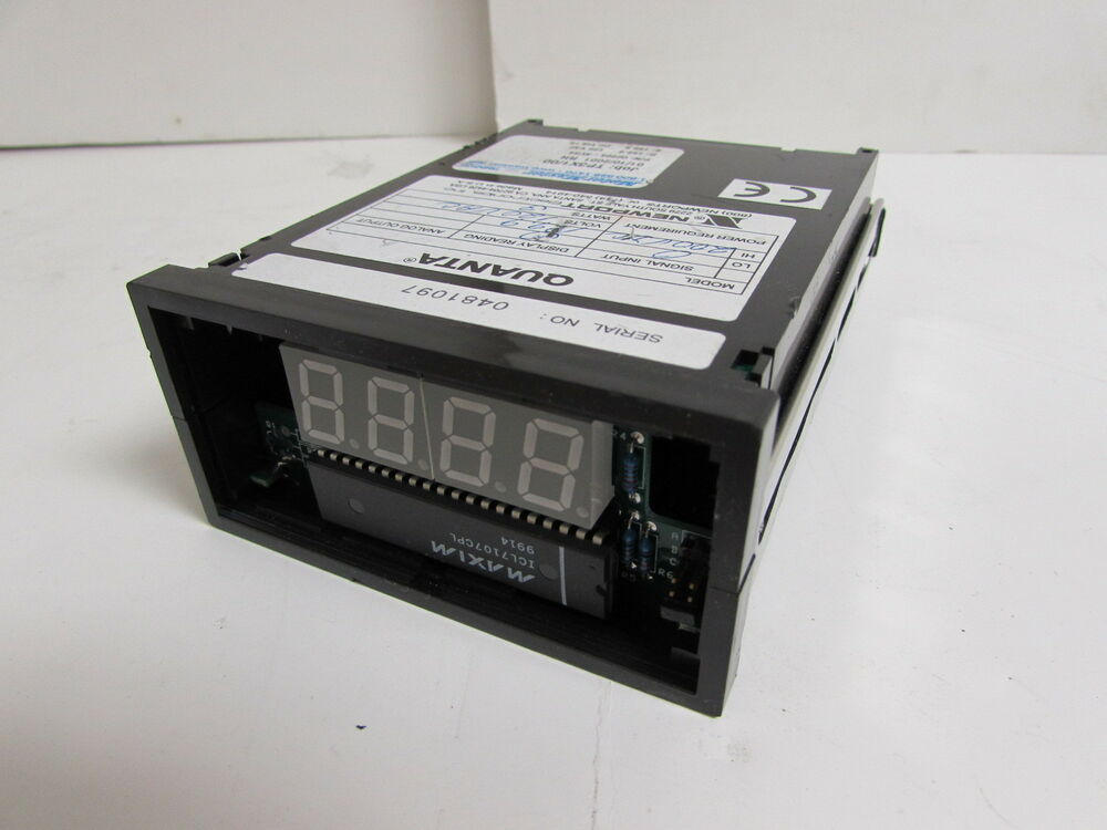 Newport Digital Meter : Newport quanta q avr digital indicator panel meter w