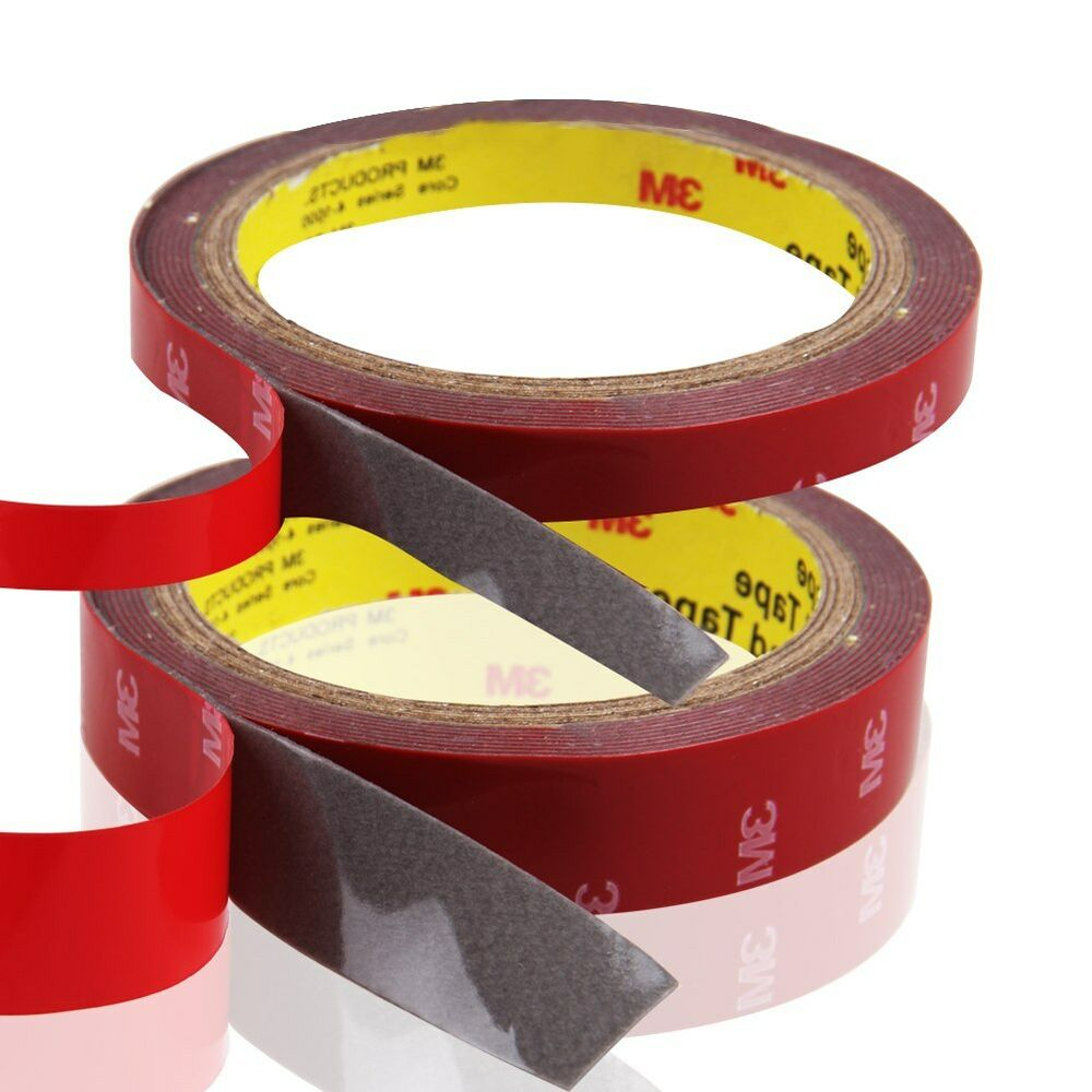 hot 3m strong permanent double sided super sticky tape roll versatile adhesive ebay. Black Bedroom Furniture Sets. Home Design Ideas