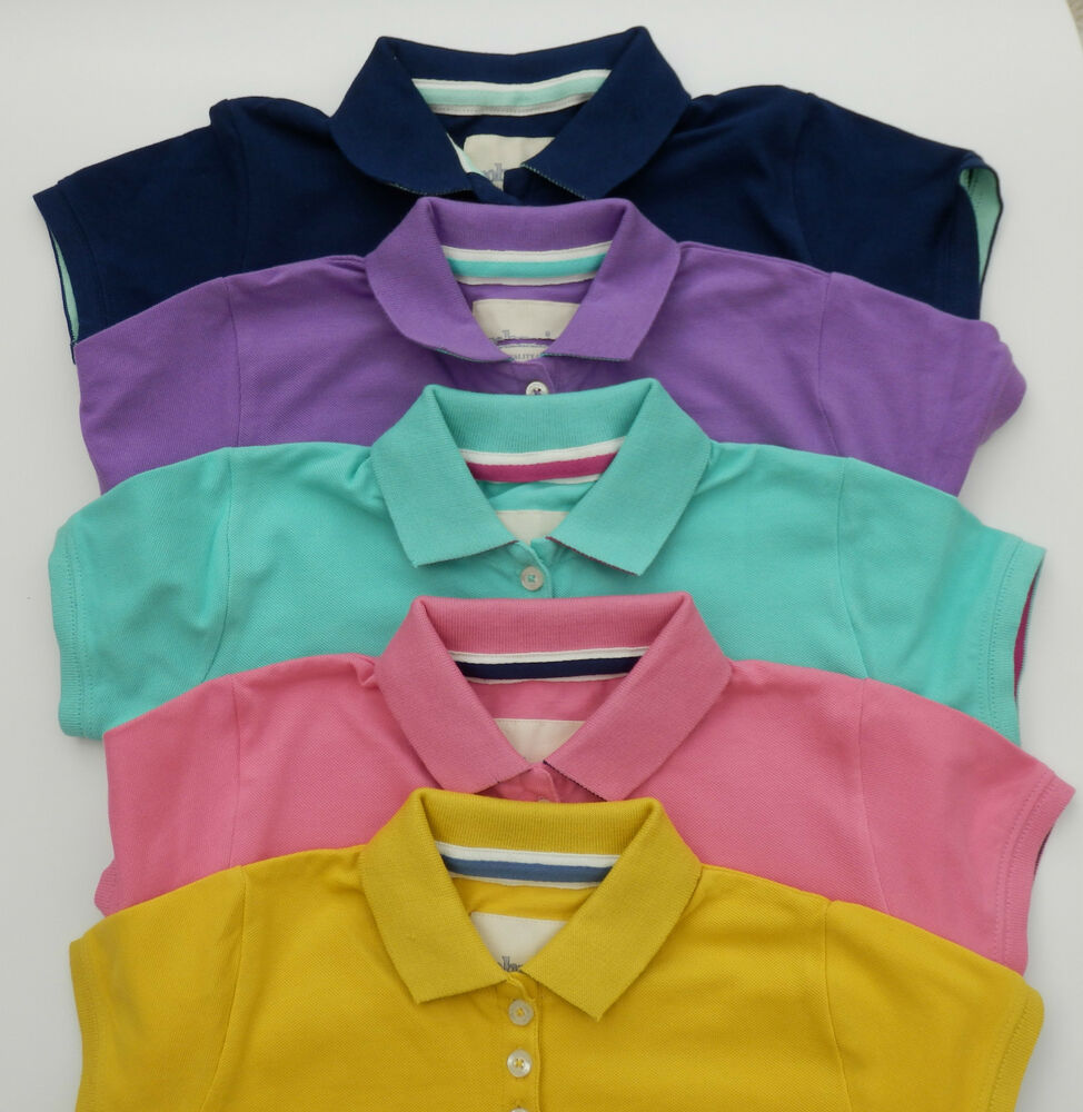 Boden johnnie b girls pique polo tee top 5 colours bnwot for Johhny boden