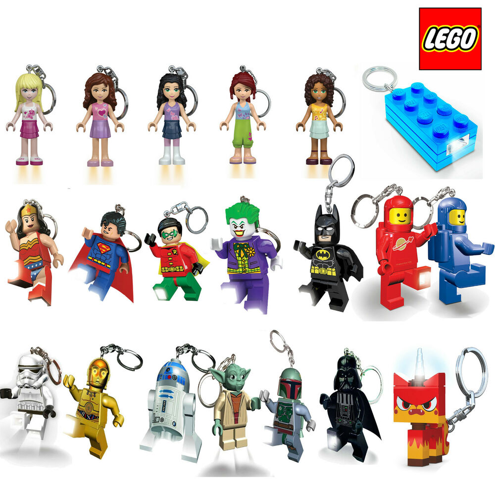 Official Lego Key Chain Light Led Keyring Torch Dc Comics