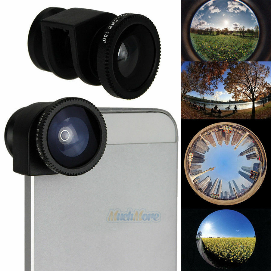 iphone 5 lens 3 in1 fisheye lens wide angle macro lens change 11008