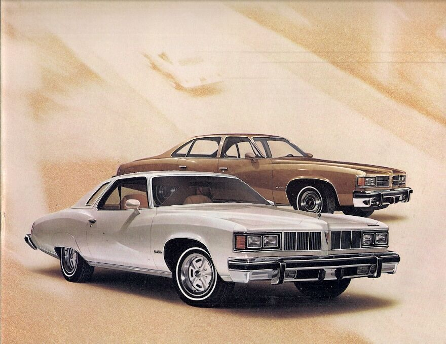 pontiac lemans 1976 usa market sales brochure sport coupe. Black Bedroom Furniture Sets. Home Design Ideas