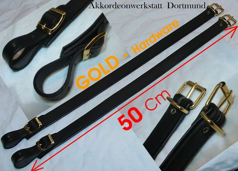 50 cm gold verl ngerung f r akkordeongurte riemen extension for accordion straps ebay. Black Bedroom Furniture Sets. Home Design Ideas