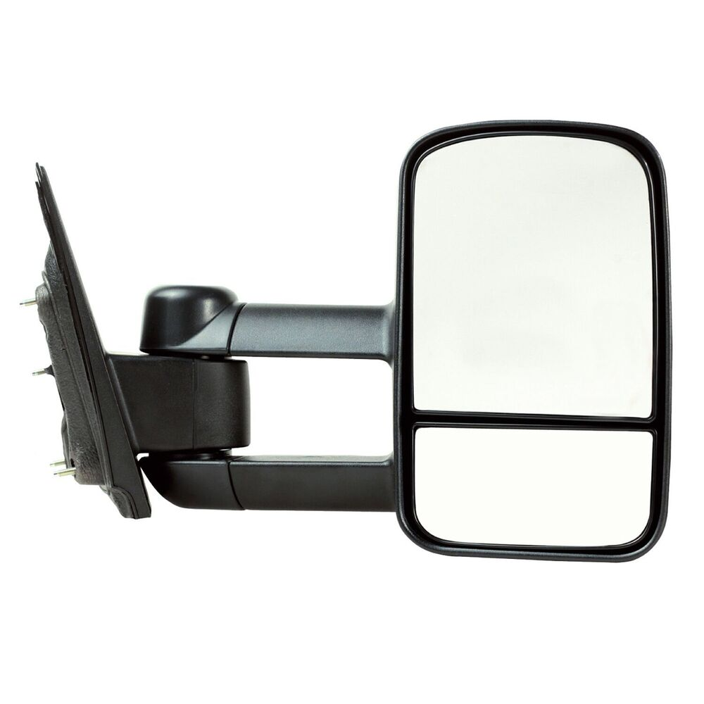 2014 2017 Silverado Sierra Extendable Manual Tow Mirror