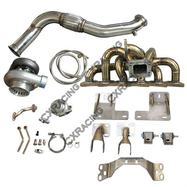 300zx Turbo Replacement Without Pulling Engine: RB25DET Turbo Manifold Downpipe Engine Transmission Mount