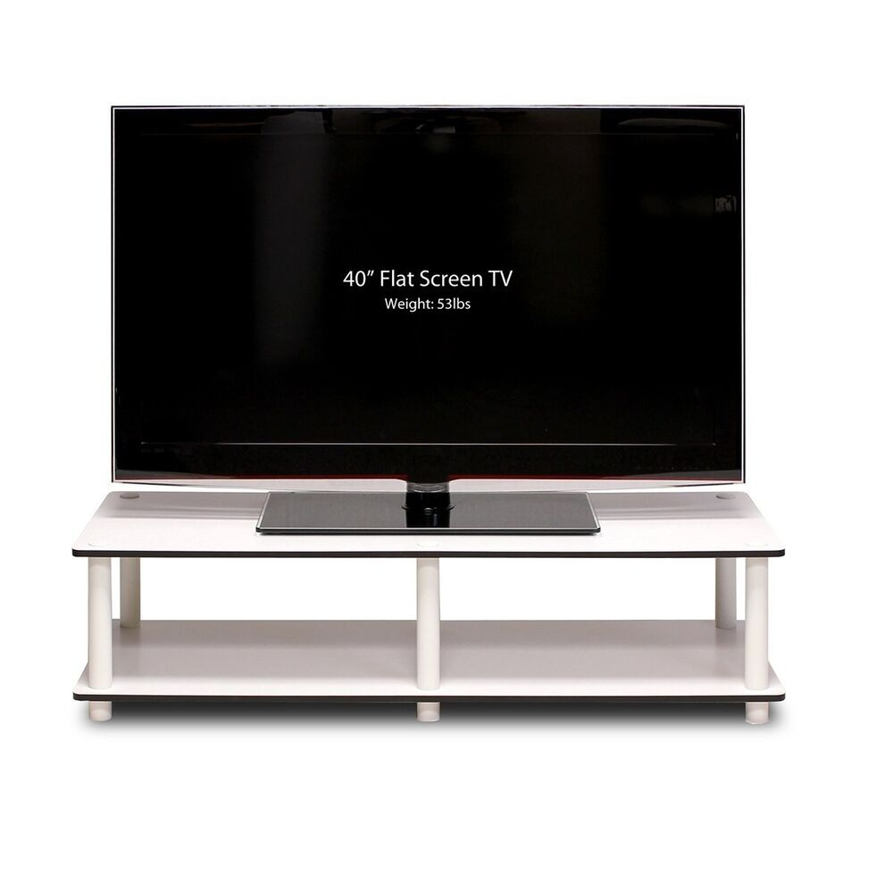 Tv stand entertainment center media storage furniture for Tv console with storage