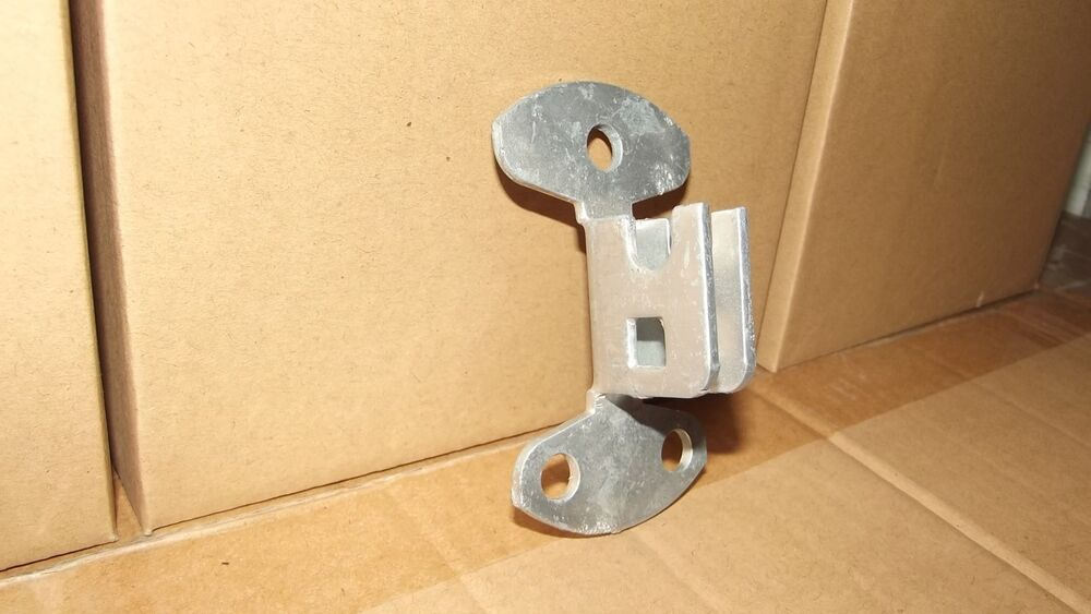 Wall Mount For Fork Latch Use With Brick Wood Concrete