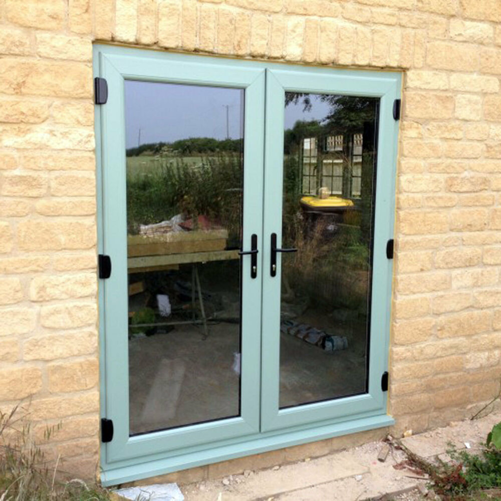 Chartwell green french doors 1400mm wide x 2100 ebay for Upvc french doors 4ft