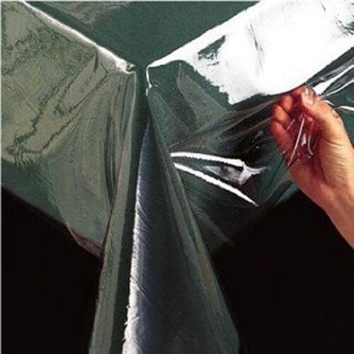 Crystal Clear Tablecloth Protector Vinyl Table Cover