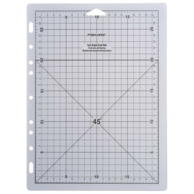 Fiskars 20x28cm A4 Self Healing Cutting Craft Mat Grid Ebay