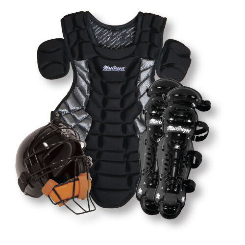 Youth Catcher's Gear Pack - BLACK - Ages 9-12