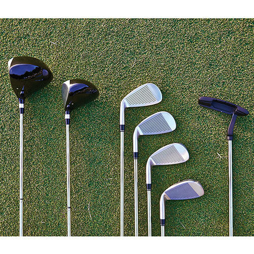mens 7 piece golf set ebay. Black Bedroom Furniture Sets. Home Design Ideas