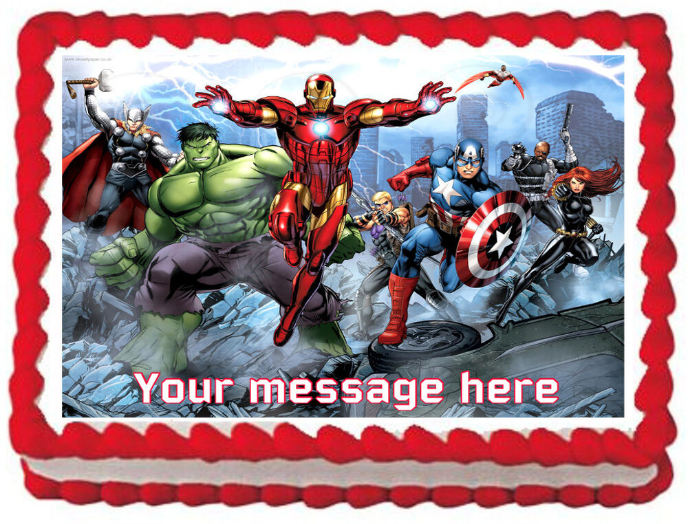 Marvel Comics Cake Ideas
