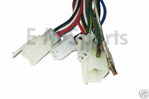 Four Wheeler Wiring Harness Manufacturers : Atv quad wheeler go kart wire wiring electrical harness