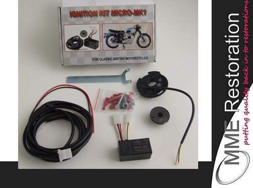 Classic Bike Electronic Ignition Kit For Bsa Triumph