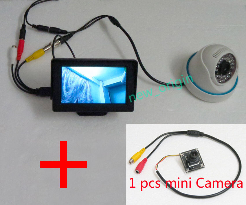 1 cam hd 4 3 inch lcd security tester cctv camera test monitor fpv snow monitor ebay. Black Bedroom Furniture Sets. Home Design Ideas