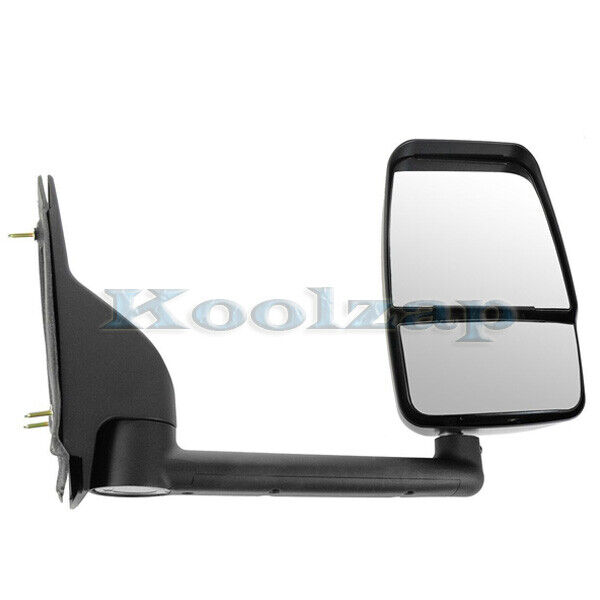03-11 Chevy Express Van Manual Black Rear View Fold Mirror ...