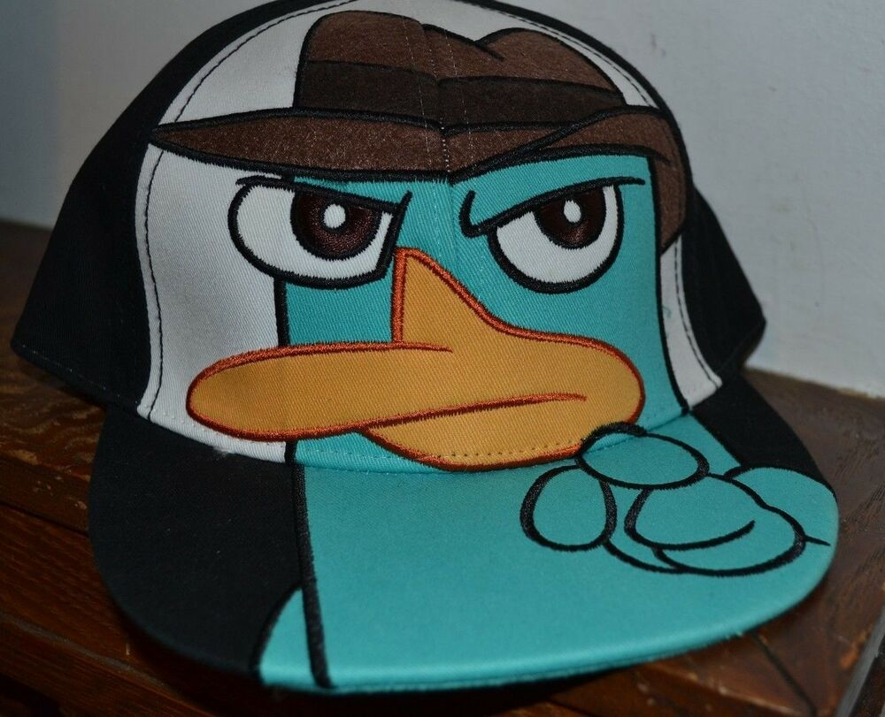 Perry the Platypus Phineas & Ferb Snapback Hat Agent P ...