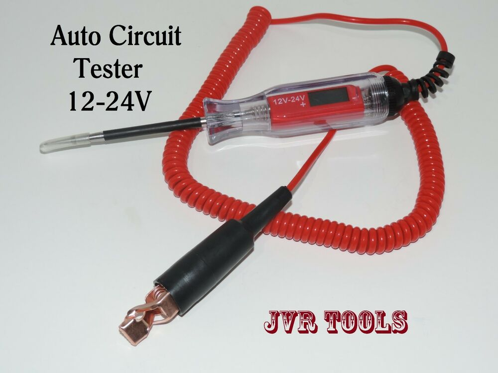 Wire Circuit Tester : Volts electirc voltmeter auto circuit tester