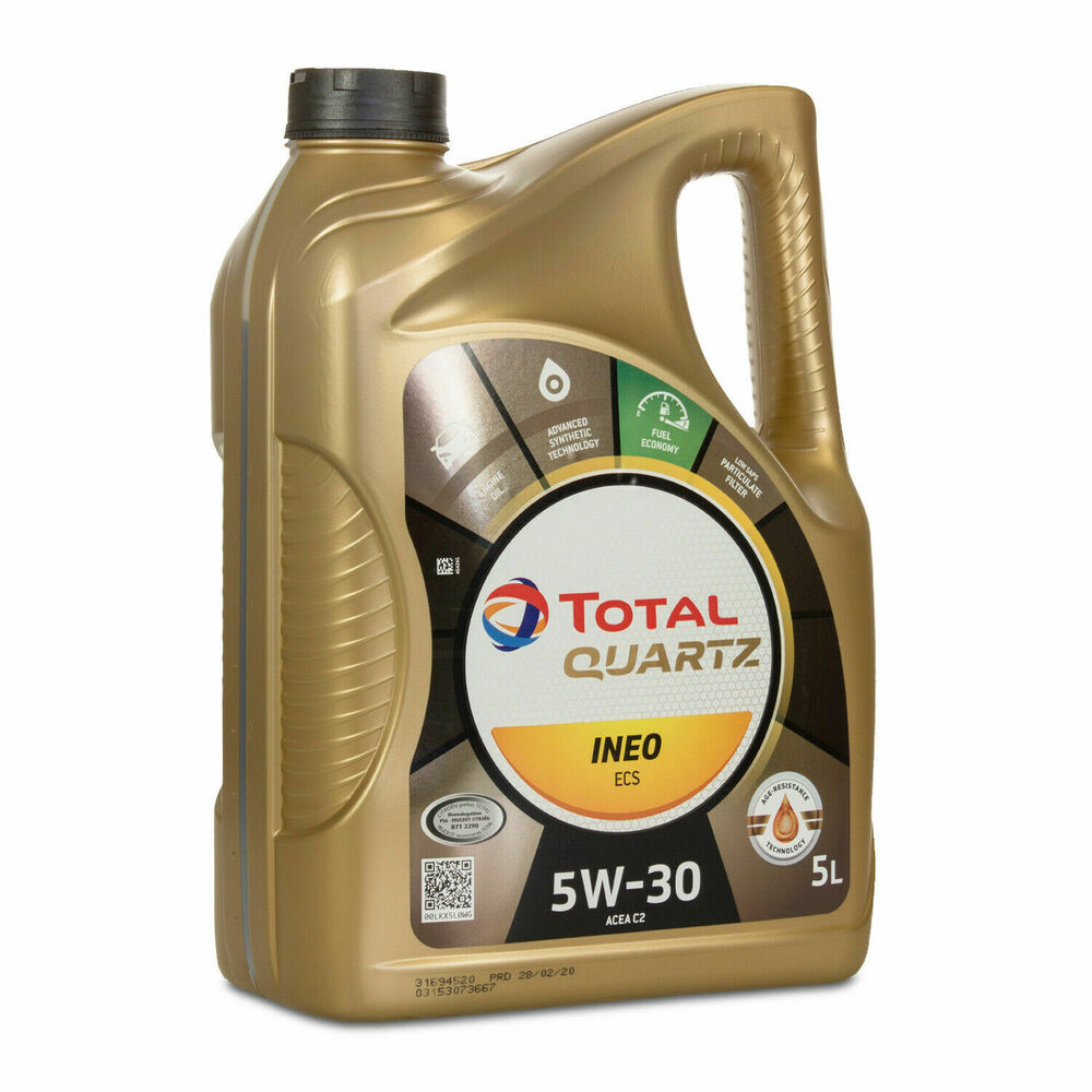 total quartz ineo ecs 5w30 5l car engine motor oil