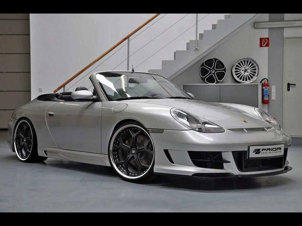 porsche 996 986 911 carrera and boxster pd1 front bumper lip s 4s c4s 4 ebay. Black Bedroom Furniture Sets. Home Design Ideas