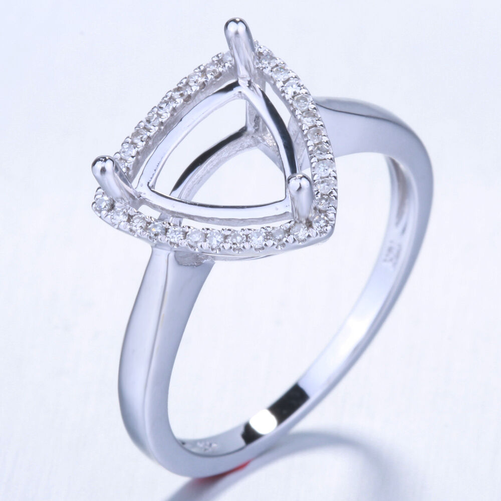 10k wedding ring solid 10k white gold engagement wedding diamonds ring 1013