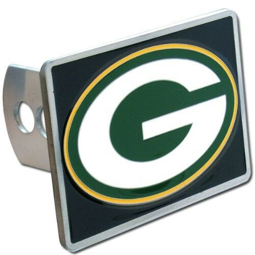 Green Bay Packers Rectangle Logo Trailer Hitch Cover ~ New ...