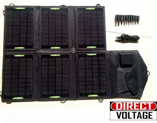 21W High Efficiency Outdoor Folding Mono Solar Panel Charger | eBay
