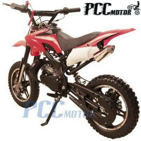free shipping kids 49cc 2 stroke gas motor dirt mini pocket bike red h db50x ebay. Black Bedroom Furniture Sets. Home Design Ideas