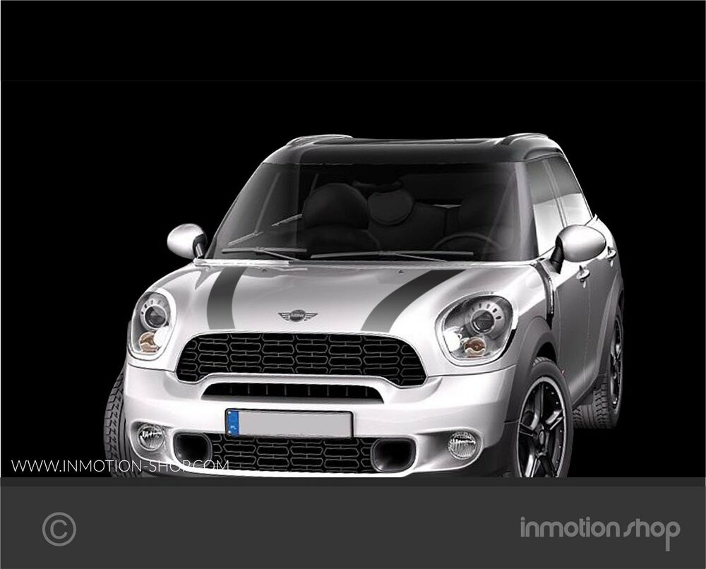 streifen stripes f mini countryman r60 cooper s one works. Black Bedroom Furniture Sets. Home Design Ideas