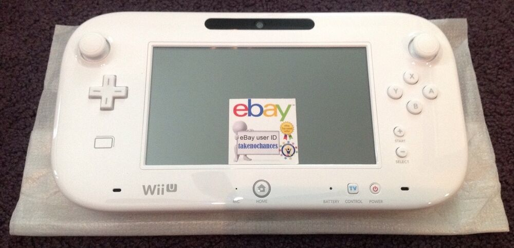 how to get a replacement wii u gamepad
