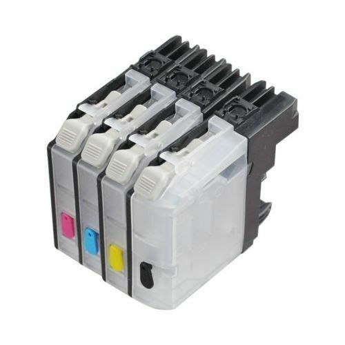 4 Refillable ink cartridge for Brother LC101 LC103 LC105