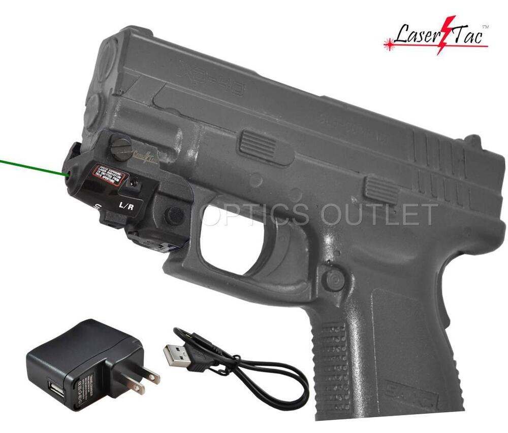 Lasertac Subcompact Green Laser Sight For Springfield Xd