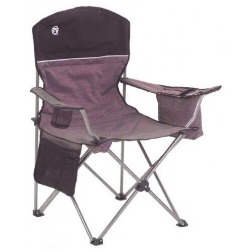 ONE COLEMAN COOLER QUAD CHAIR PLUS CAMPING BROADBAND WITH MESH BACK AND SEAT