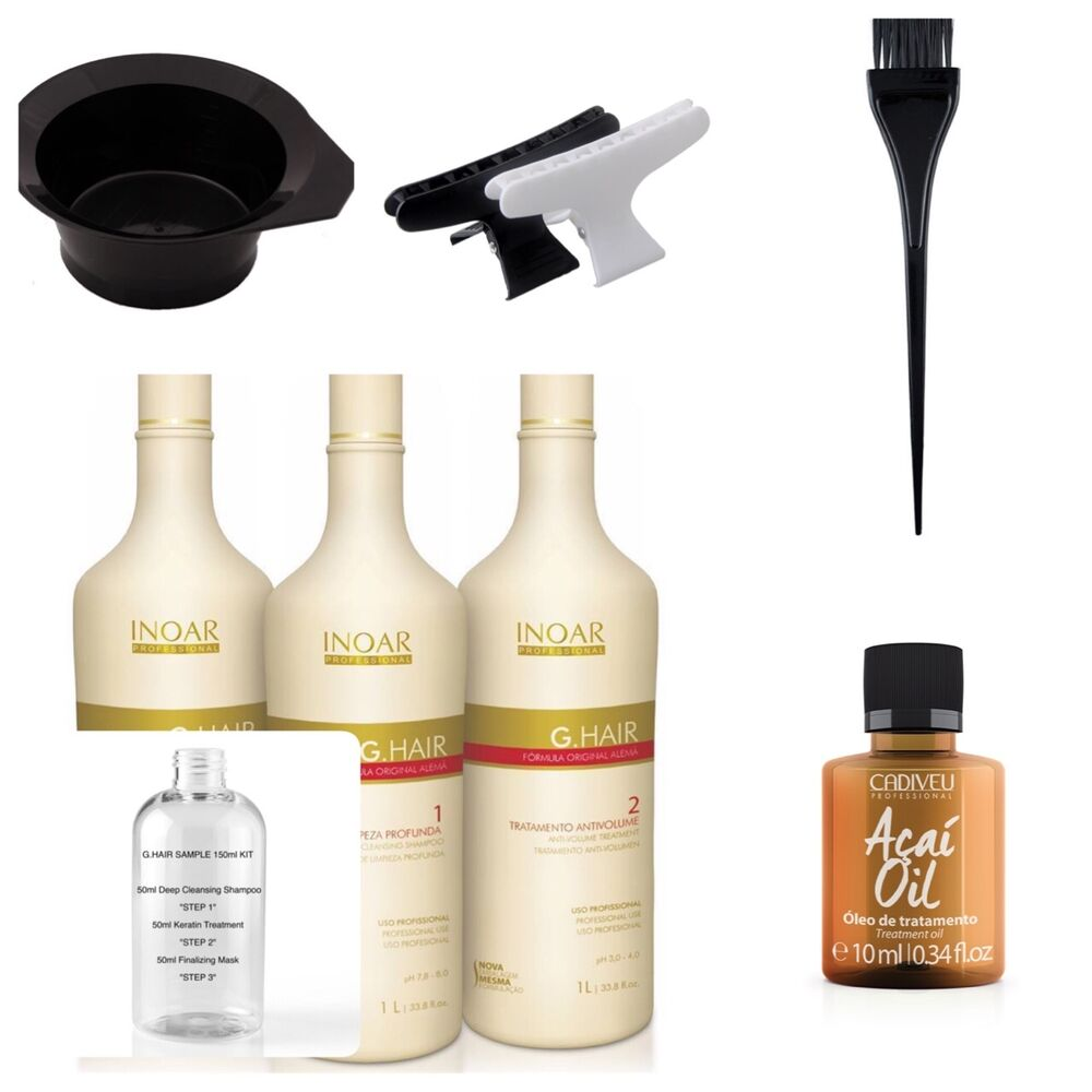 Keratin Hair Treatment At Home Kit