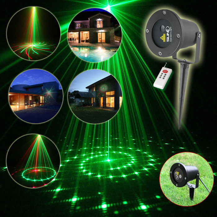 Suny outdoor laser lighting garden landscape projector