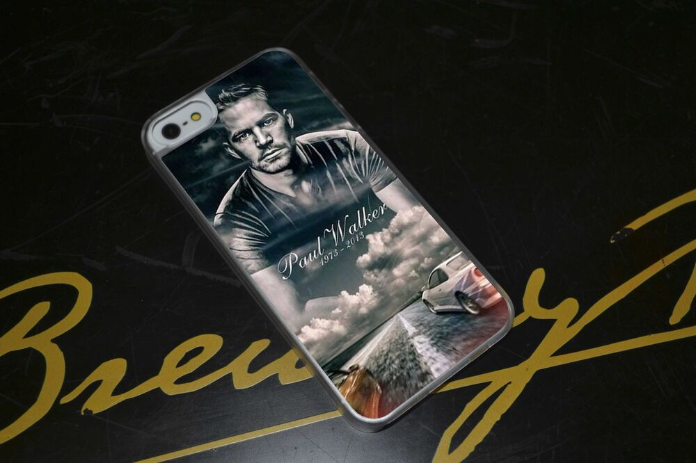 Paul Walker Fast And Furious RIP Phone Case Fits IPhone 4