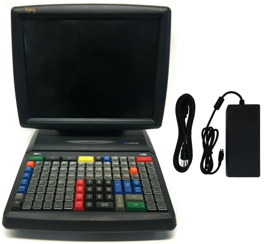Verifone Topaz Xl Ii Touch Screen Console P050 02 310 For