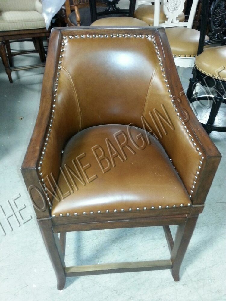 Frontgate Sheldon Counter Height Bar Chair Wicker Barstool