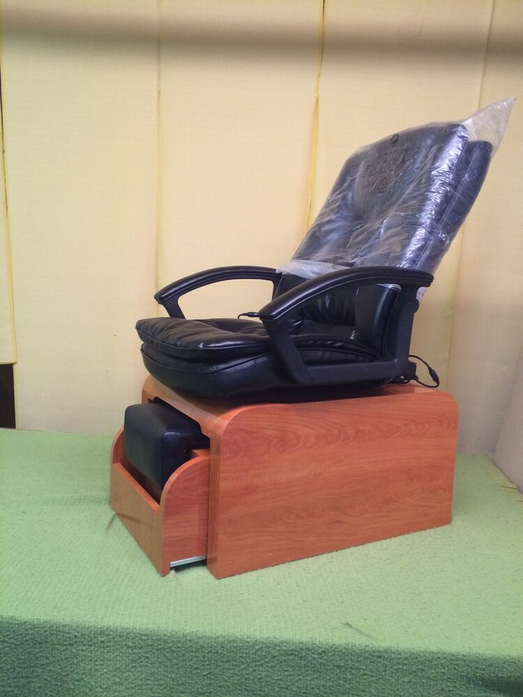 Pedicure chair with massage & NO plumbing needed FOOTSIE ...