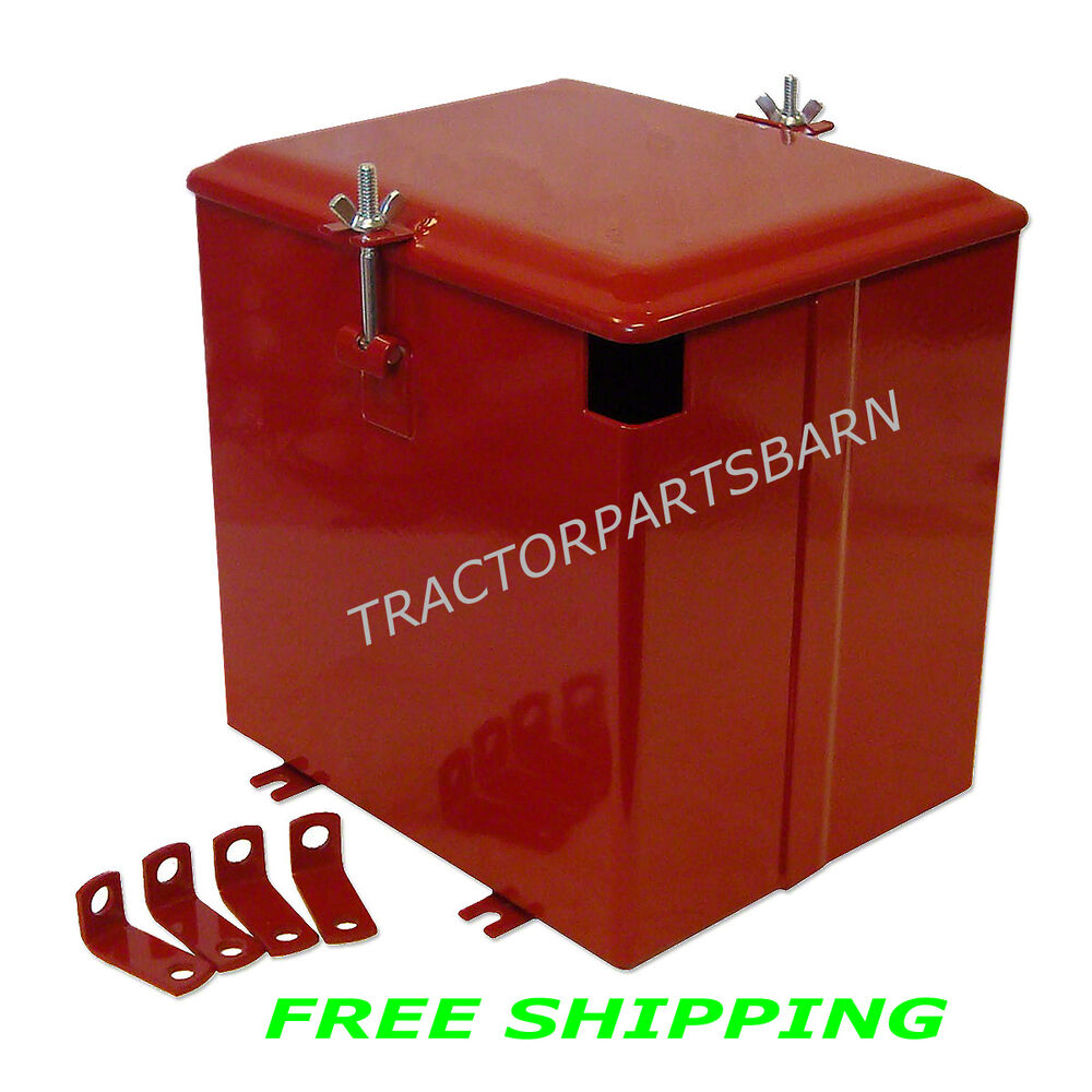 Farmall H Battery : Ih farmall super a c av battery box new w