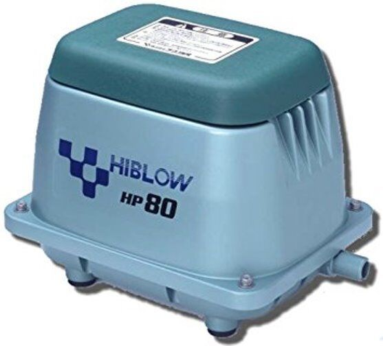 Hiblow hp 80 hp80 new septic air pump aerator special for Small pond pumps for sale
