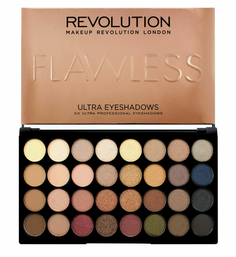 Makeup Revolution 32 Shade 16g Eyeshadow Palette Nude And Natural Flawless Ebay