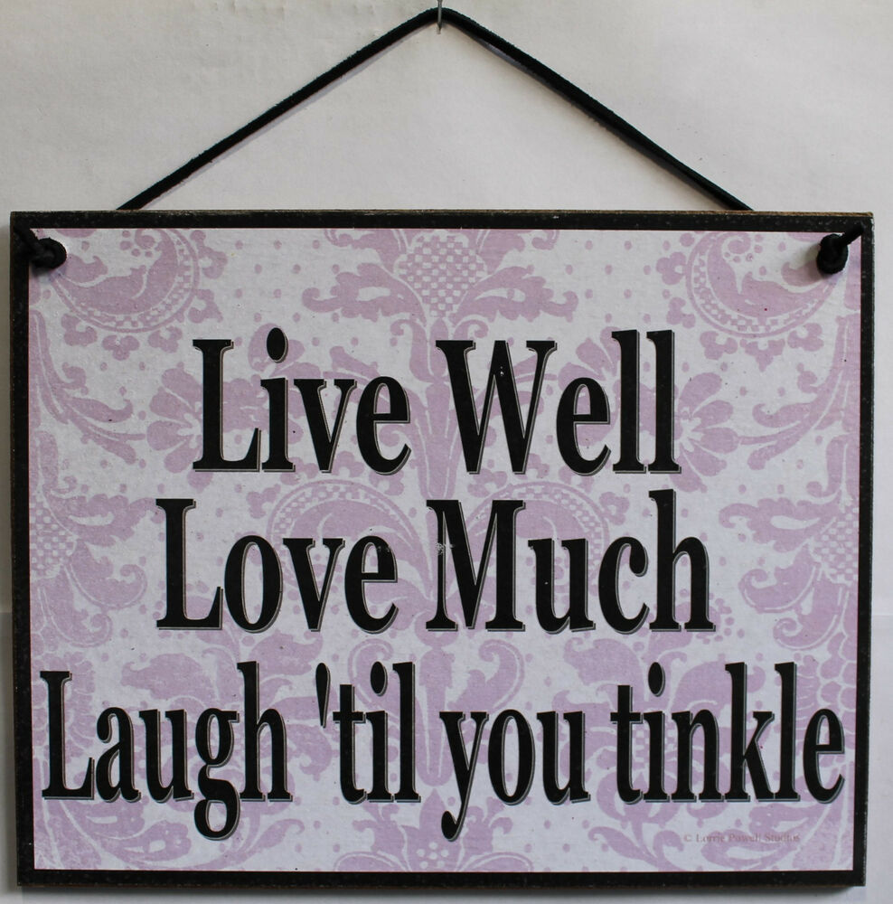Love Decor Signs: Live Love Laugh Sign Inspire Inspirational Home Decor 'til