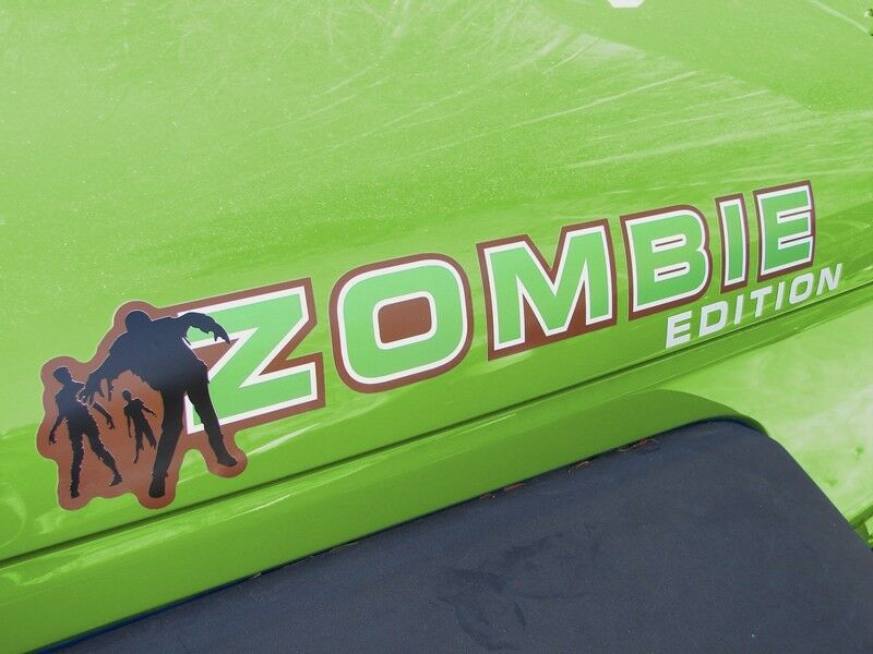 Custom Hood Decal Pair Quot Zombie Edition Quot Sticker Truck Jeep