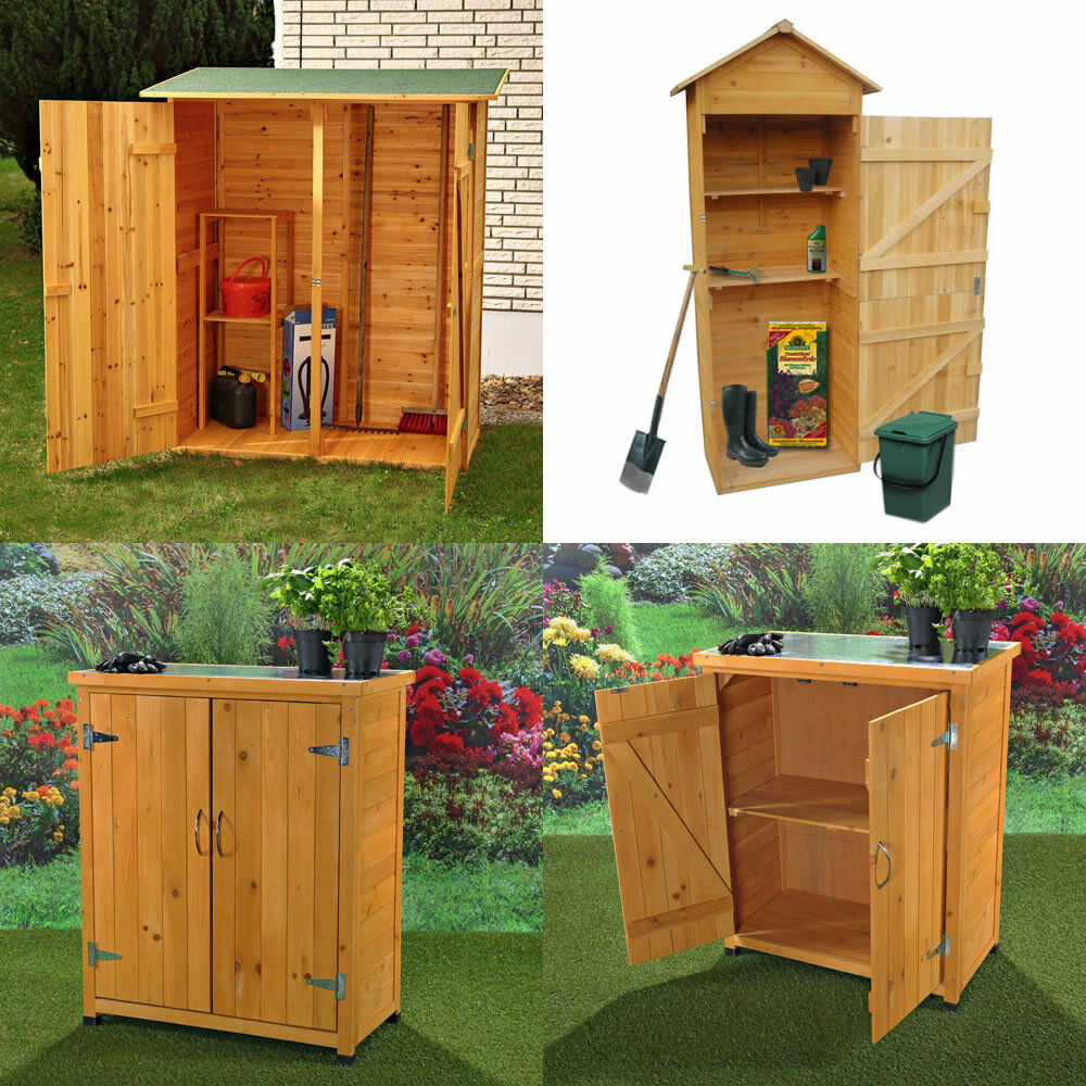 pflanztisch gartenschrank ger tehaus ger teschuppen gartenhaus holz garten neu ebay. Black Bedroom Furniture Sets. Home Design Ideas