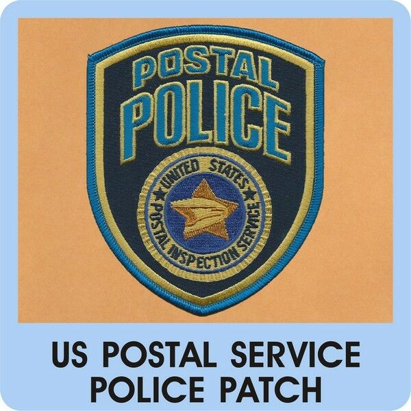 Post Service: US Postal Service Police Patch Mail Post Courier Delivery