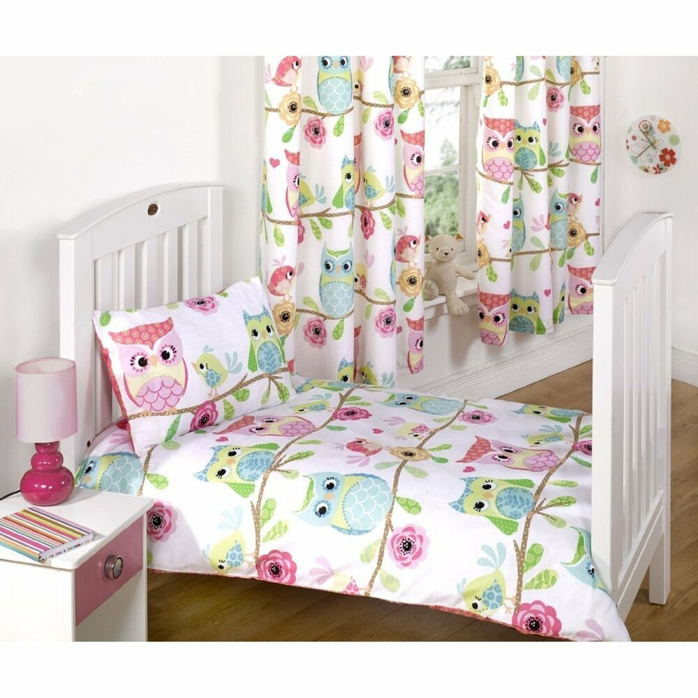 Owl Bedroom Curtains Owl And Friends Bedroom Range Bedding Curtains Rug Cushion